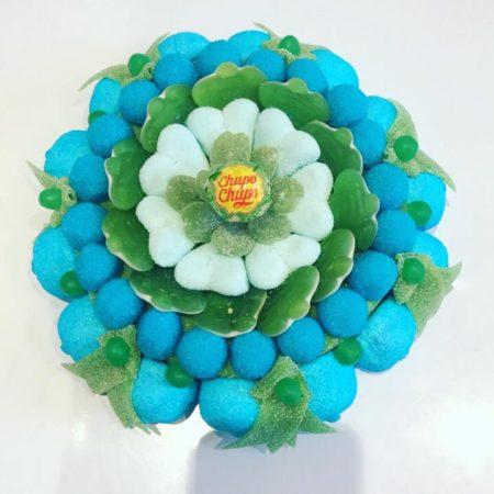 Fleur cyan
